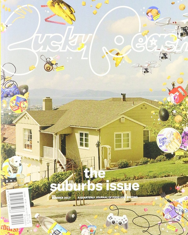The cover of the suburbs issue from Lucky Peach