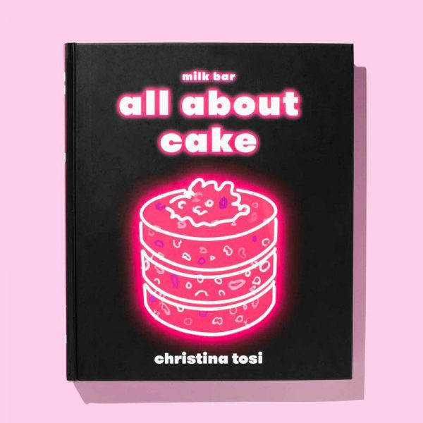 The cover of All About Cake by Christina Tosi