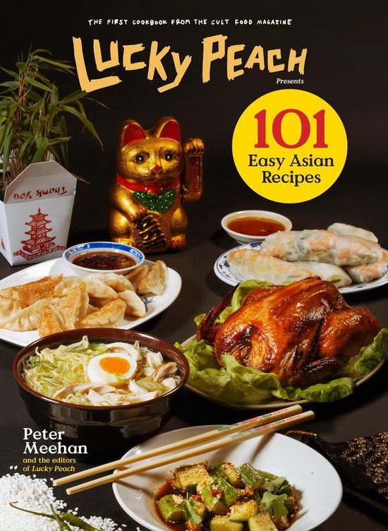 The cover of Lucky Peach presents 101 Easy Asian Recipes