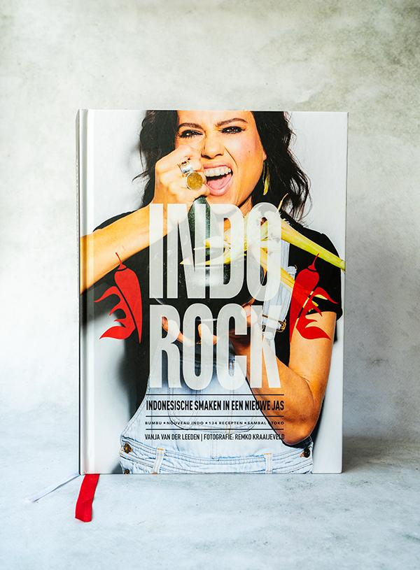 The cover of Vanja van der Leeden's Indorock